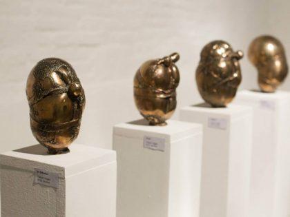 """Vernissage @""""Sus Meninas y Otras Esculturas"""" by Fabian Vogler + invited guest Savina Tarsitano"""