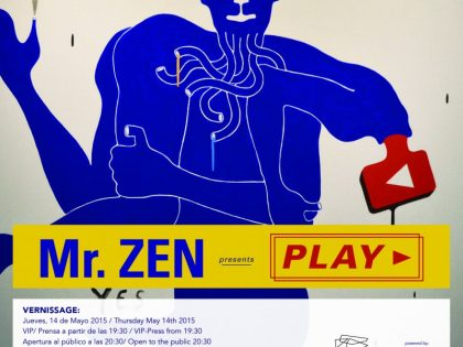 Vernissage @ PLAY by the artist Mr. Zen