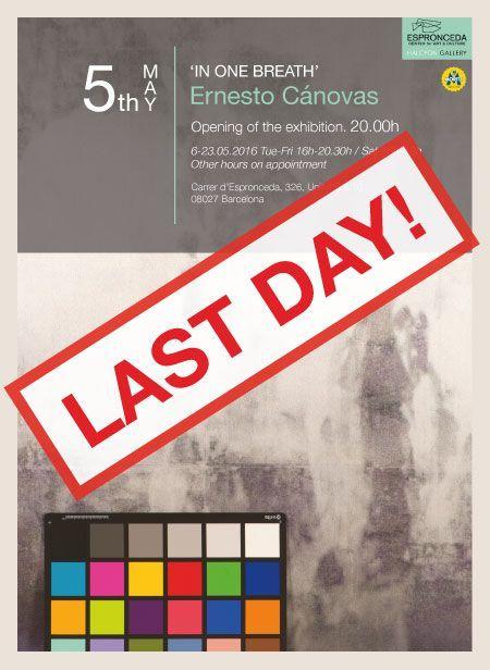 Flyer-Ernesto Canovas-LASTDAY