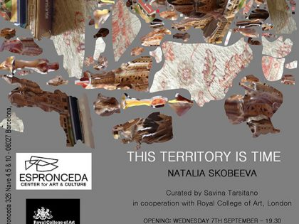 "Vernissage @""This Territory is Time"" by Natalia Skobeeva"