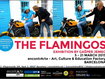 THE FLAMINGOS Opening Vernissage @ espronceda