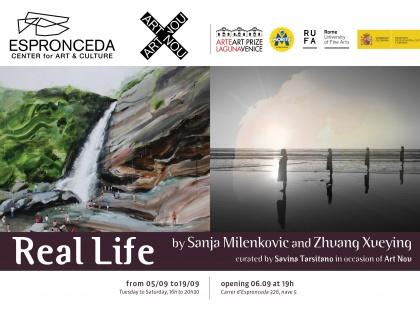 Real Life, por Sanja Milenkovic y Zhuang Xueying – Miércoles, 6 de Septiembre, 19h