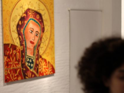 "Vernissage @""Holyland"" by Nammah Berkovitz & guest"