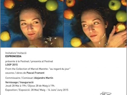 "Vernissage @ From the collection of Marcel Marette: ""au regard du jour"" by Pascal Fragment. Loop Festival 2015"