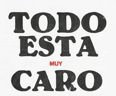 Inauguración @ TODO ESTÁ MUY CARO, exposición antológica de ANTONIO CARO