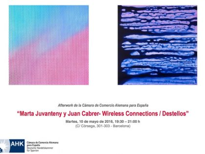 Presentation 10th May @ Marta Juvanteny & Juan Cabrer – Wireless Connections / Destellos