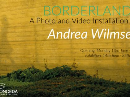 Vernissage @ 'Borderlands' by Andrea Wilmsen