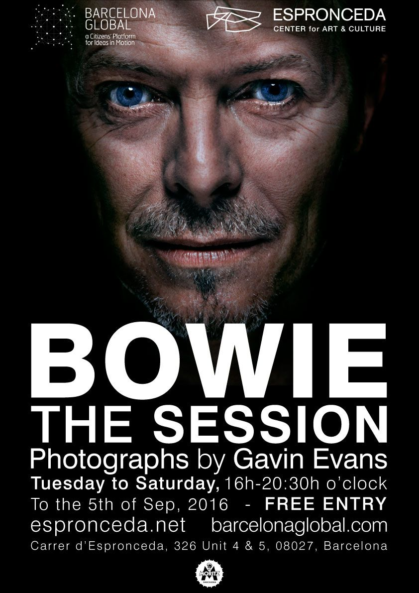 Flyer Bowie The Session Gavin Evans 02