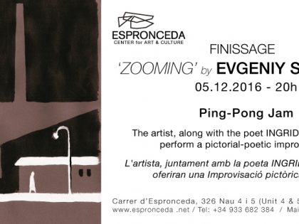OPENING @ 'ZOOMING' by Evgeniy Stasenko – 29th Nov – 7.30pm