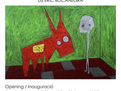 "Opening @""EPISTAXIS"" by Eric Bocanegra – 23rd March – 19h30"