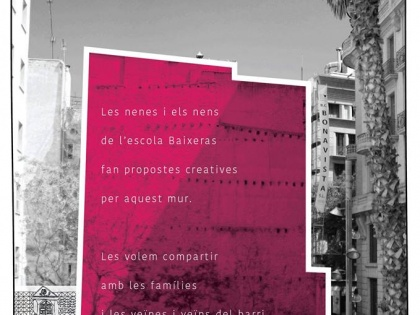 Workshop Artmongers Baixeras · Sharing the work – Friday 9th -15h Plaça de Víctor Balaguer