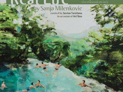 exhibit @Real Life – Sanja Milenkovic, Sept 6th 19h30