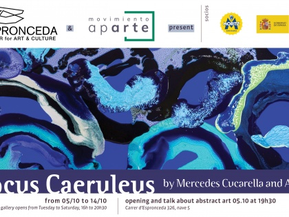 Locus Caeruleus @ Mercedes Cucarella and Anna Pou, October 5th 19h30