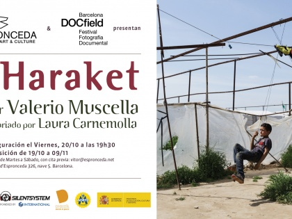 Haraket @ Valerio Muscella, October 20th 18h30
