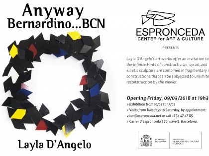Anyway Bernardino by Layla D'Angelo @09/03, 19h30