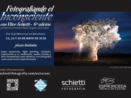 "Course ""Photographing the Unconscious"" with Vitor Schietti"