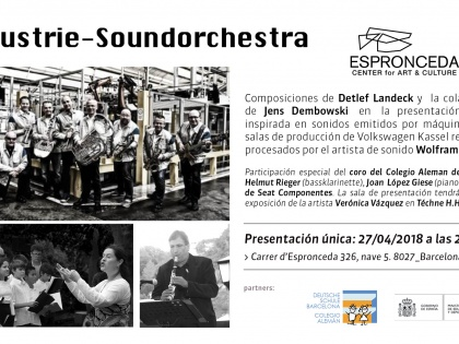 Industrie-Soundorchestra, 27/04 @ 20h