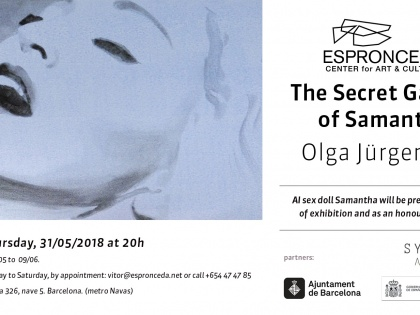 The Secret Garden of Samantha by Olga Jürgenson, 31/05 @20h