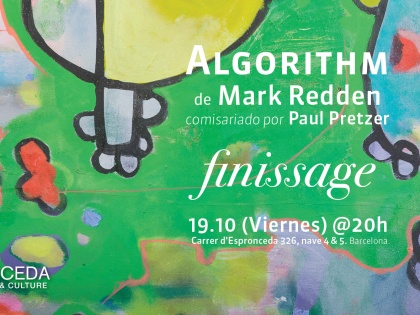 Algorithm finissage, by Mark Redden. 19/05 @20h