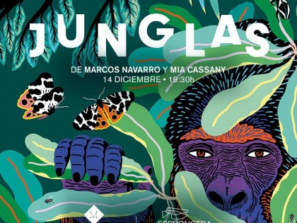 Jungles book launch 14/12 @19h30
