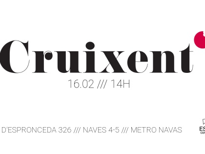 Cruixent, 16/02 @2pm
