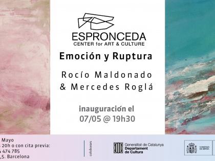 Emoción y Ruptura, por Rocío Maldonado y Mercedes Roglá. 07/05 @19h30
