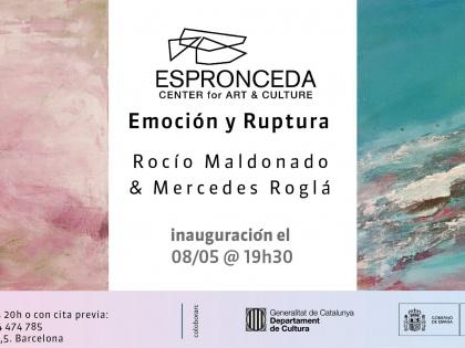 Emoción y Ruptura, por Rocío Maldonado y Mercedes Roglá. 08/05 @19h30
