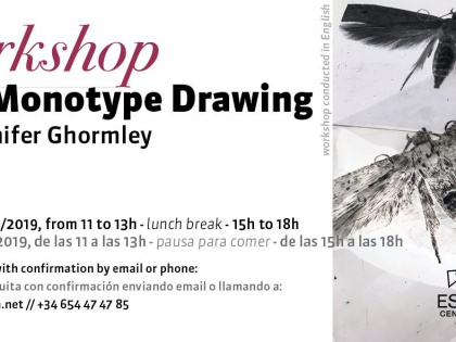 Trace Monotype Drawing Workshop with Jennifer Ghormley