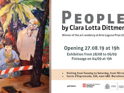 People, by Clara Lotter Dittmer 27/08/19 @19h