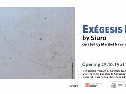 EXÉGENIS POÉTICA by Siuro, curated by Maribel Navarro