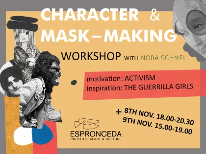 Character & mask-making workshop with Nora Schmel