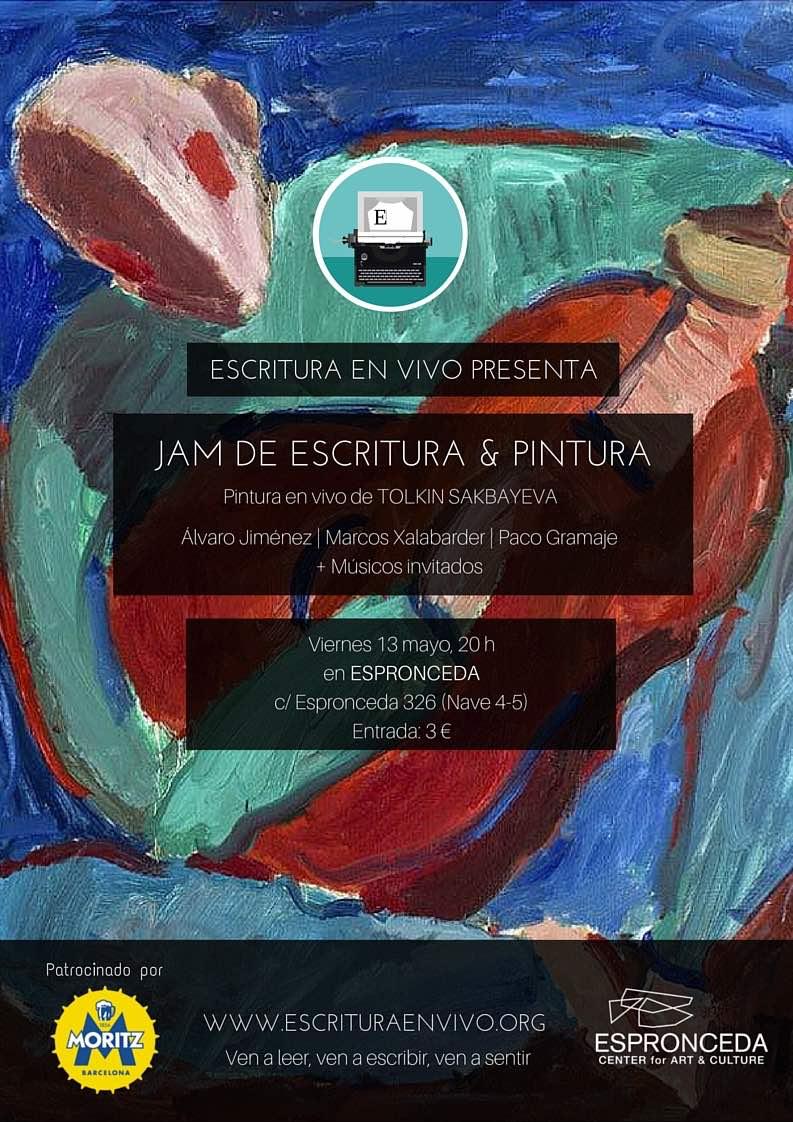 JAM PAINT ESPRONCEDA Poster