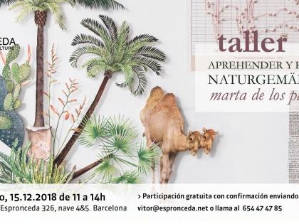"""Workshop """"Apprehending and trimming Naturgemälde"""" with Marta de los Pájaros"""