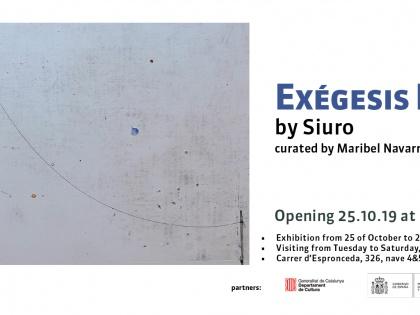 EXÉGENIS POÉTICA by Siuro, curated by Maribel Navarro