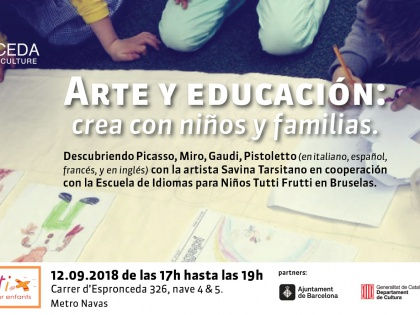 Art and Education: create with kids and families
