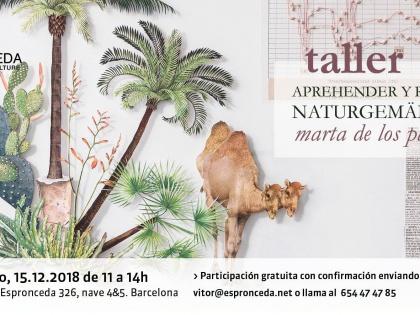 Taller Aprehender y Recortar Naturgemälde / Marta de los Pájaros