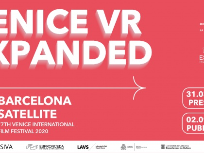 VENICE VR EXPANDED. Programa satèl·lit de Barcelona.