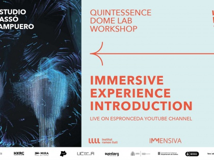 Immersive experience introduction by Eyesberg Studio